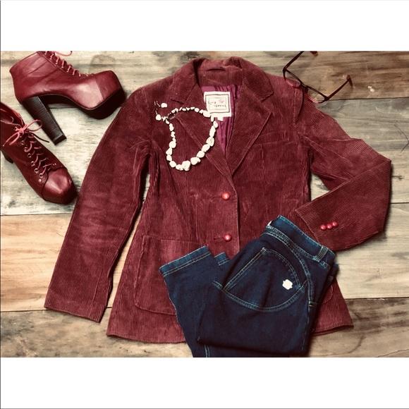 long street Jackets & Blazers - Long Street Ladies Corduroy dress jacket